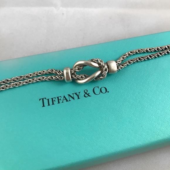 53926cdff Tiffany & Co. Double Rope Love Knot Bracelet. M_5b319c850cb5aaee7f5fddb1